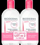 Acheter CREALINE TS H2O Solution micellaire sans parfum nettoyante apaisante 2Fl/500ml à PARIS