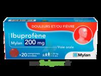 Ibuprofene Mylan 200 Mg, Comprimé Enrobé à PARIS