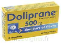 Doliprane 500 Mg Comprimés 2plq/8 (16) à PARIS