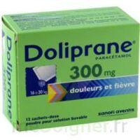 Doliprane 300 Mg Poudre Pour Solution Buvable En Sachet-dose B/12 à PARIS
