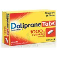 Dolipranetabs 1000 Mg Comprimés Pelliculés Plq/8 à PARIS