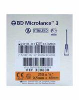 Bd Microlance 3, G25 5/8, 0,5 Mm X 16 Mm, Orange  à PARIS