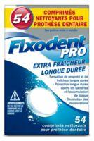 Fixodent Pro Comprimés Nettoyant Fraîcheur Longue Durée Pour Prothèse Dentaire B/54 à PARIS