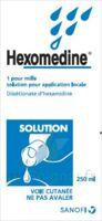 Hexomedine 1 Pour Mille S Appl Loc Fl/250ml à PARIS