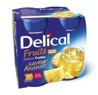 Delical Boisson Fruitee Nutriment Ananas 4bouteilles/200ml à PARIS