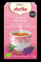 Yogi Tea Tisane Ayurvédique Equilibre Féminin Bio 17 Sachets/1,8g à PARIS