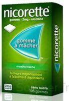 Nicorette 2 Mg Gom à Mâcher Médic Sans Sucre Menthe Fraîche Plq/30gom à PARIS