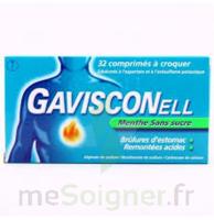 Gavisconell Coprimés à Croquer Sans Sucre Menthe édulcoré à L'aspartam Et à L'acésulfame Potas Plq/24 à PARIS