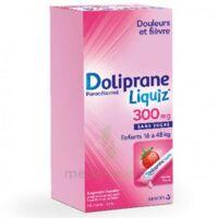 Dolipraneliquiz 300 Mg Suspension Buvable En Sachet Sans Sucre édulcorée Au Maltitol Liquide Et Au Sorbitol B/12 à PARIS