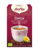 Yogi Tea Tisane Ayurvédique Détox Bio 17 Sachets/1,8g à PARIS