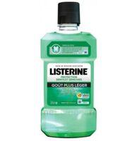 Listerine Protection Dents Gencives Bain Bouche Goût Plus Léger Fl/500ml