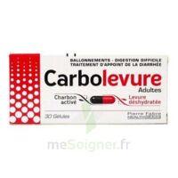 Carbolevure Gélules Adulte Plq/30 à PARIS