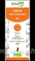Herbalgem Sirop Bio Des Chantres 150ml à PARIS
