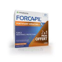 Forcapil Fortifiant + Kératine Gélules B/180 à PARIS