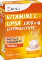 Vitamine C Upsa Effervescente 1000 Mg, Comprimé Effervescent à PARIS