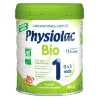 Physiolac Bio 1 Lait En Poudre B/800g à PARIS